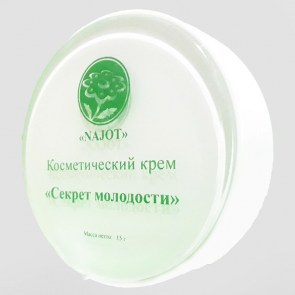 puff-box - Cosmetic Cream «The Secret of Youth» (Секрет молодости)